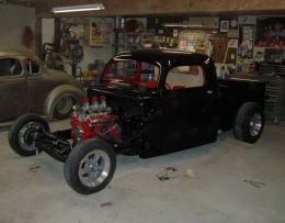 1948 Ford 1940s Shop Truck Build by Jgb7038